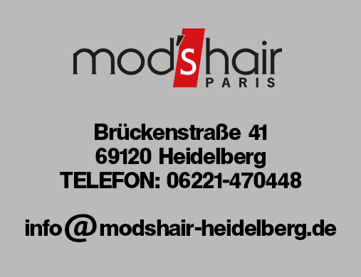 Ihr Friseursalon in Heidelberg - mod's hair basic